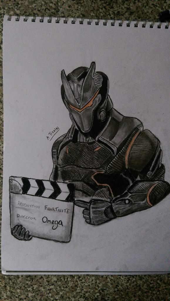 Tried Sketching The Omega Skin Found This One Difficult