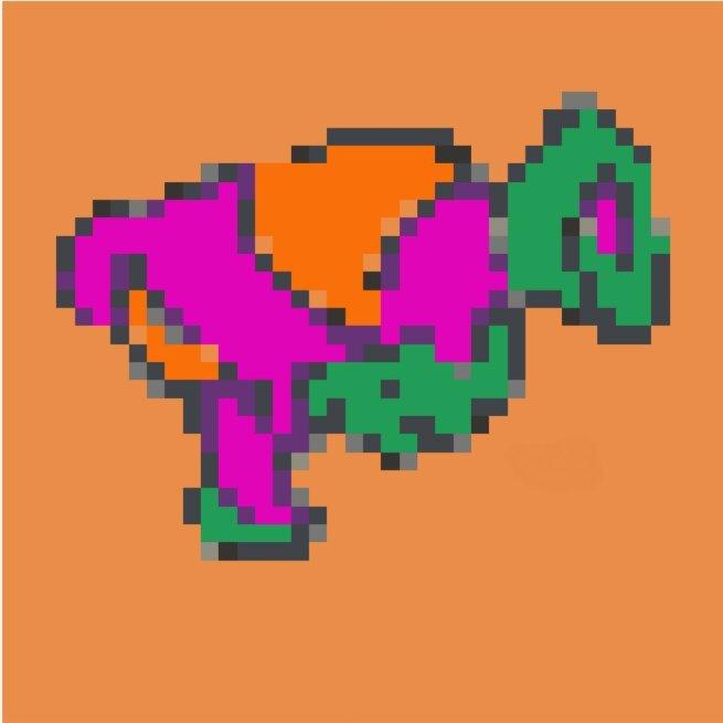 Pouti Pixel Art Splatoon Français Amino
