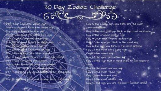 30dayzodiacchallenge | Zodiac Amino