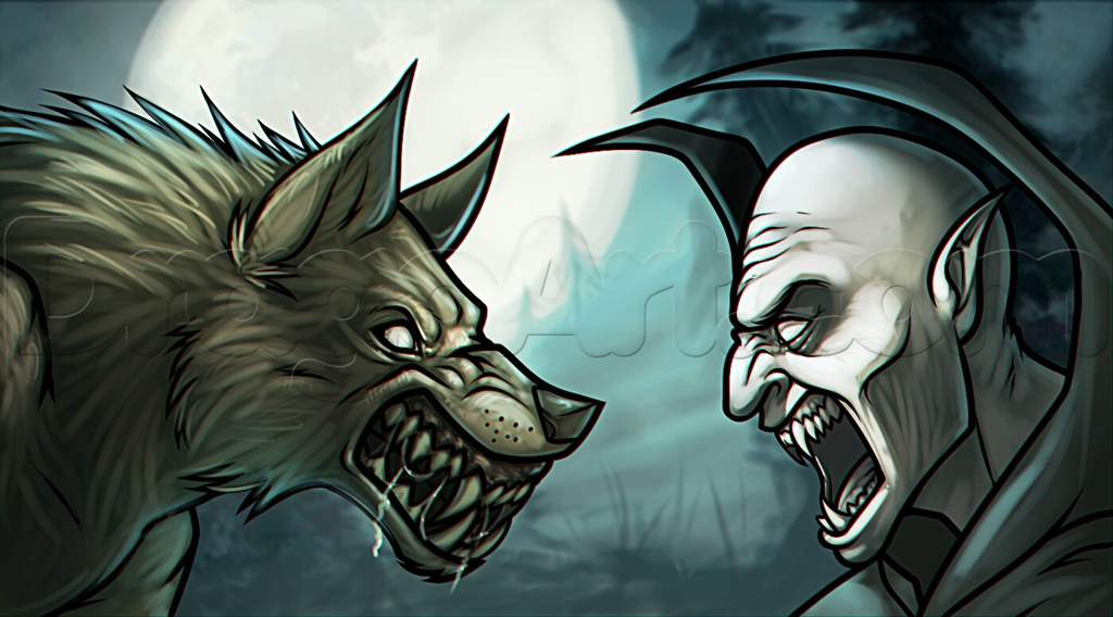 who is stronger a vampire or werewolf
