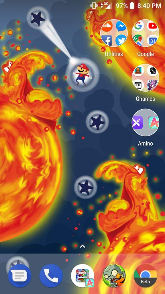 New Phone Wallpaper Keyboard Layout Super Mario Galaxy Amino