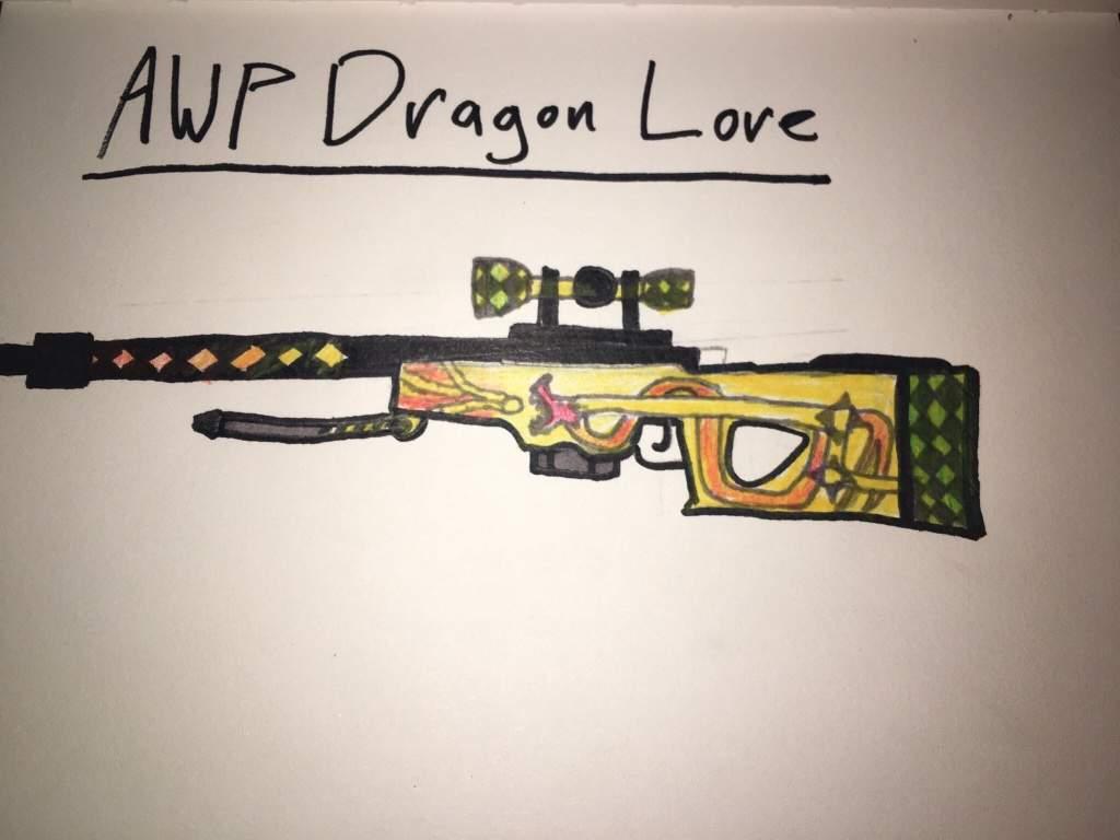 Awp Dragon Lore Counter Strike Amino