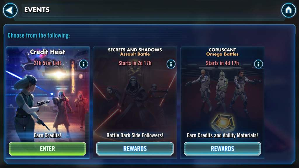Swgoh credits | Ship and capital ship leveling cost calculator for