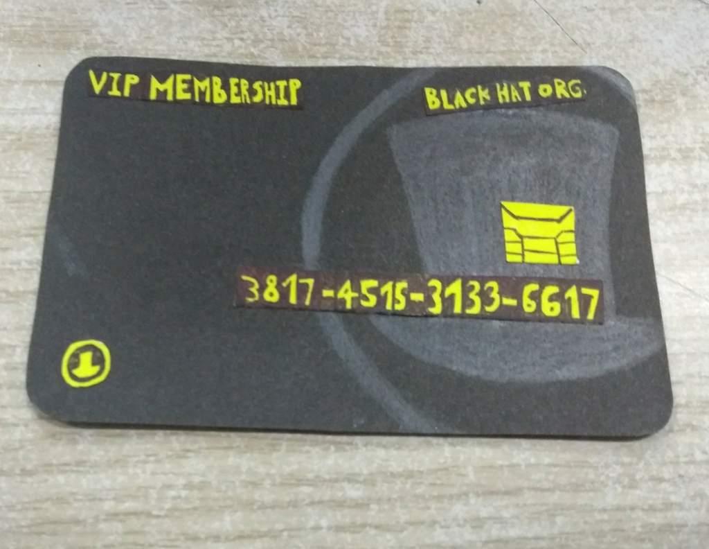 Tarjeta VIP Membership!   Villanos/Villainous •Español• Amino