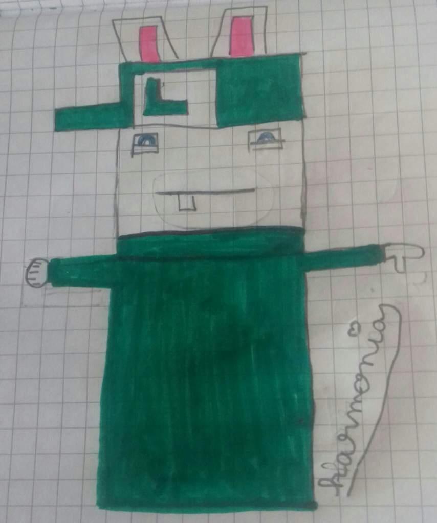 Mon Pixel Art Lapin Luigi Nintendo France Amino