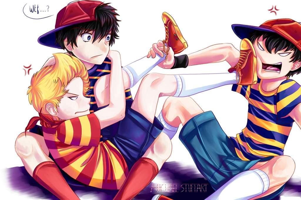 🌍Ninten, Lucas and Ness🌍   EarthBound Amino