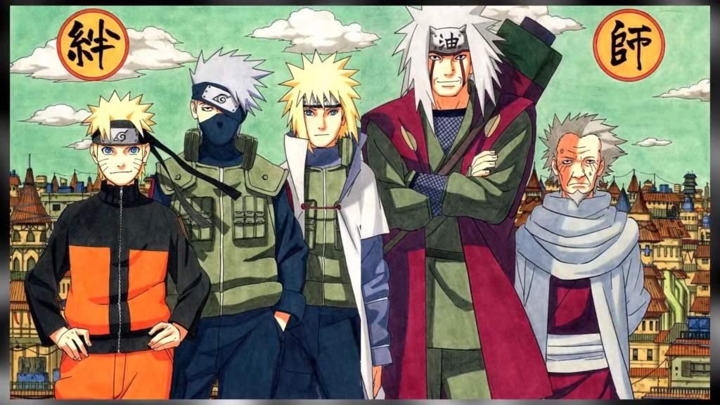 Long Line Of Student And Sensei Naruto Amino