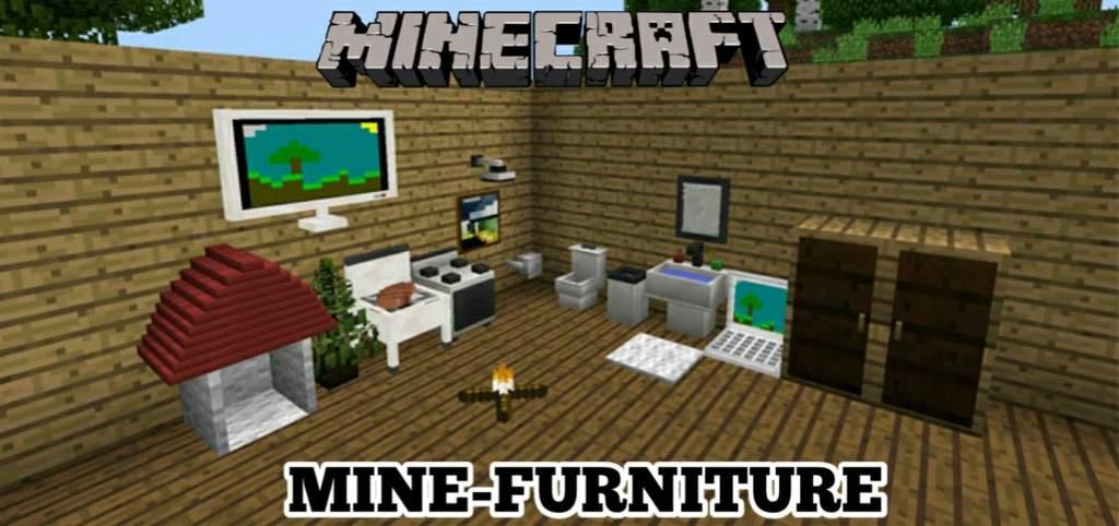 Como BAIXAR e INSTALAR o ADDON Mine-Furniture (Decoração) para