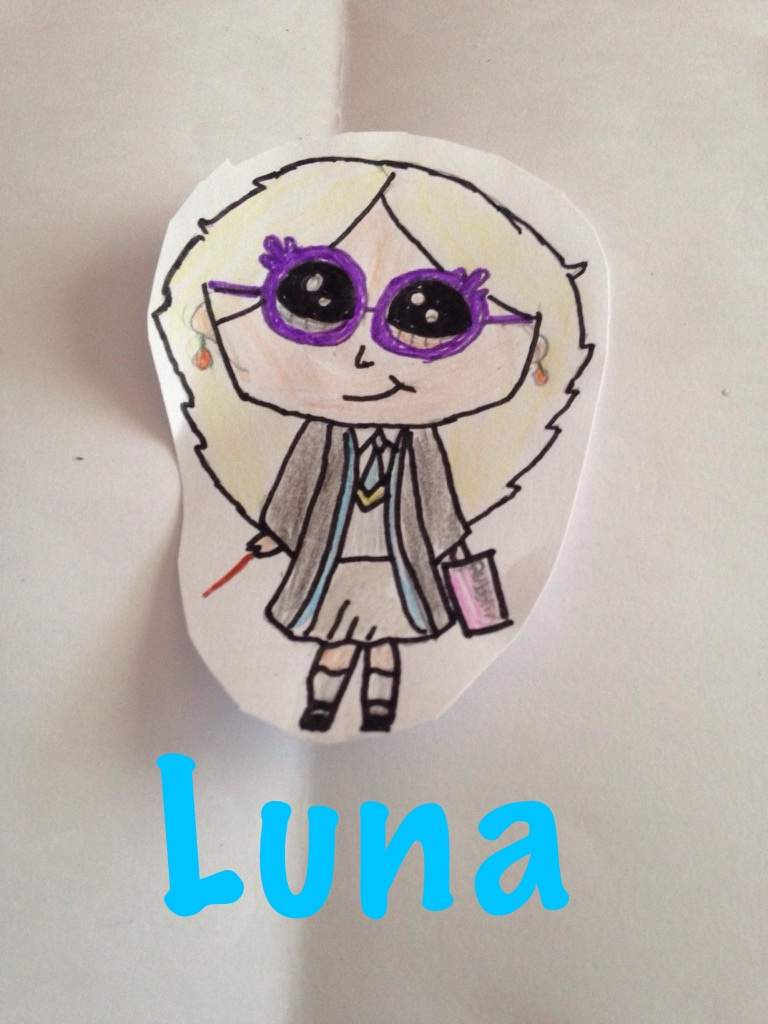 I Did A Draw So Cute Inspired Luna What Do You Think Harry Potter