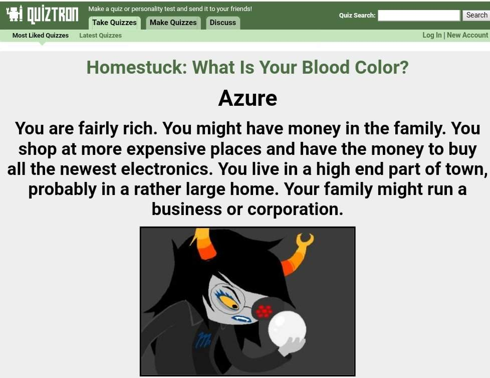 What is my trollsona's blood?   Homestuck And Hiveswap Amino