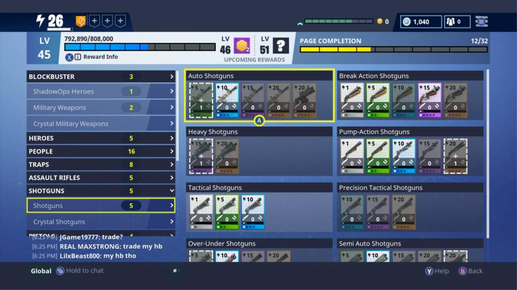 save the world collection book rewards