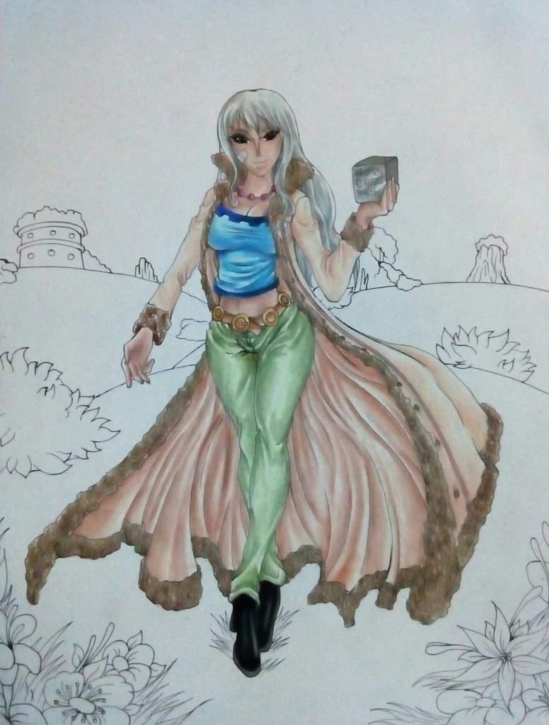 Dibujo - Nico Olvia | •One Piece• Amino