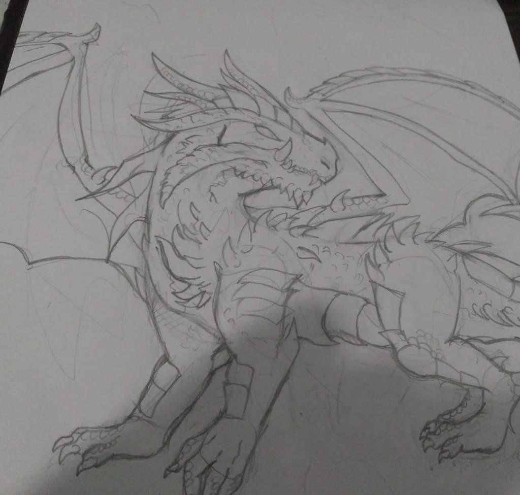 Dibujo Para El Concurso Drágones Y Monstruos Amino Amino