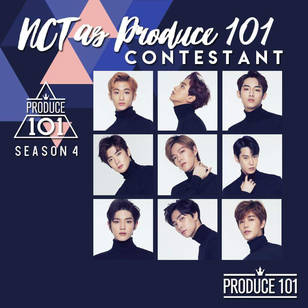 NCT 127 as Produce 101 Contestant | NCT (엔시티) Amino