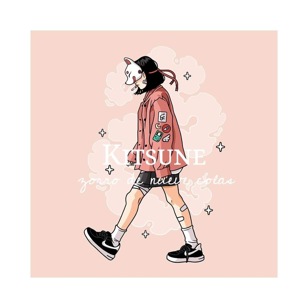 O5 || Zorro de Nueve Colas: Kitsune ๛🦊 | •°☆♡Pastel Goth♡☆°• Amino