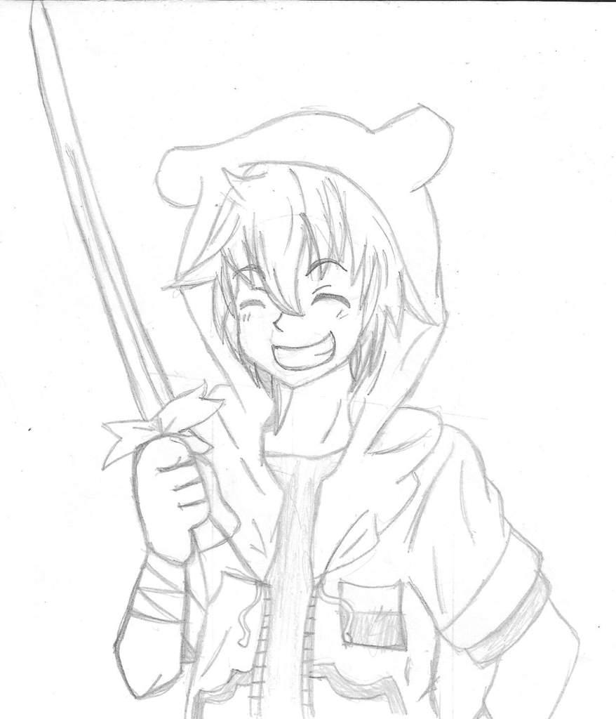 Como Dibujar A Finn En Anime Paso Por Paso Hora De