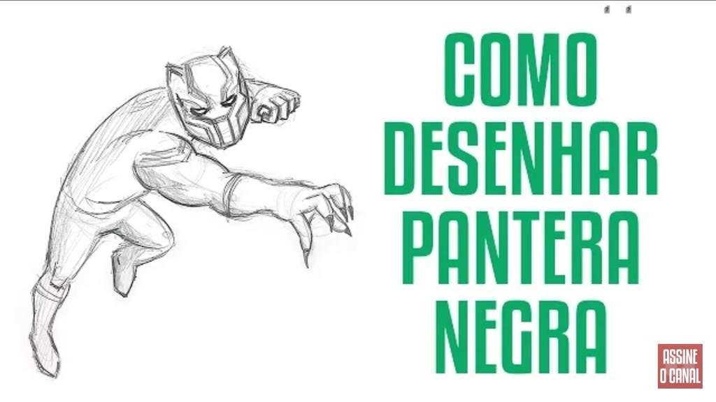 aprendenco como desenhar o pantera negra comics português amino