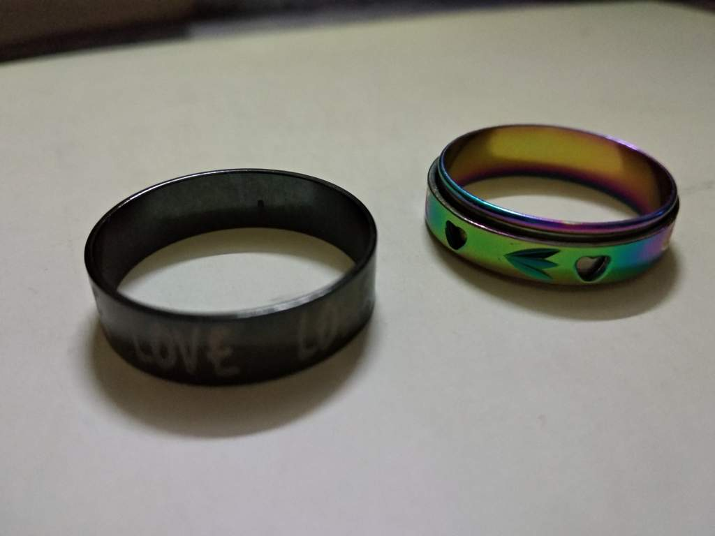got my pride ring and ace ring finally virtual ace amino