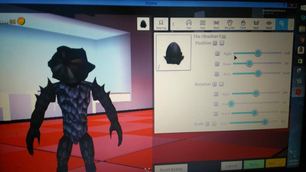 How To Make A Demogorgon From Stranger Things in Robloxian