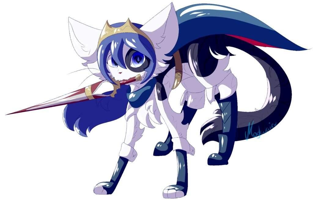Comm Cat Lucina Fire Emblem Furry Amino