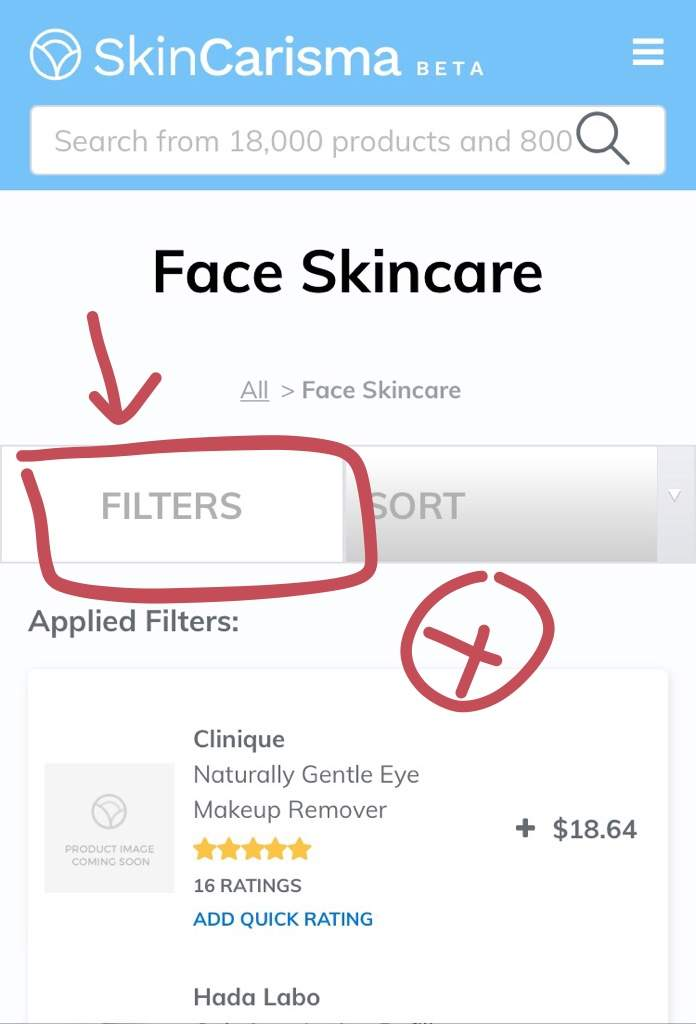 SkinCarisma: Ingredient-to-Product search | Korean Beauty Amino