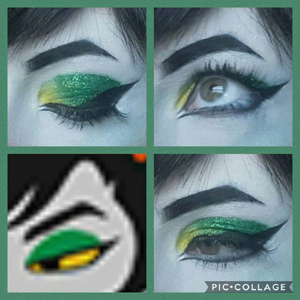 Lanque And Skylla Eye Makeup Homestuck And Hiveswap Amino