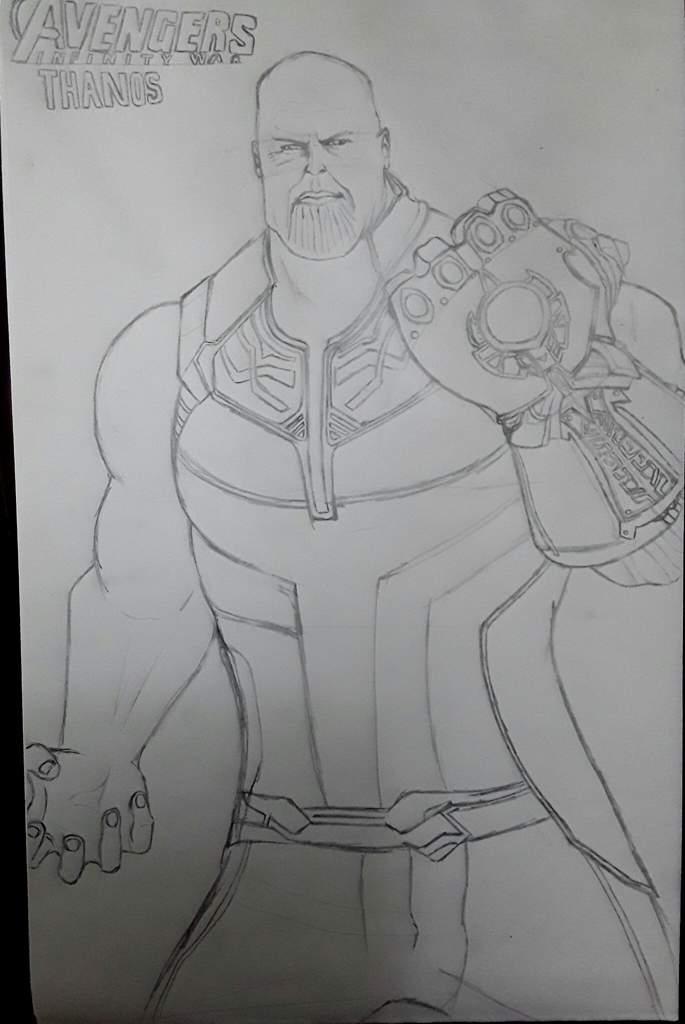 Tag Del Dibujo Infinity War Thanos Emos Scene Góticos Raros Amino Amino