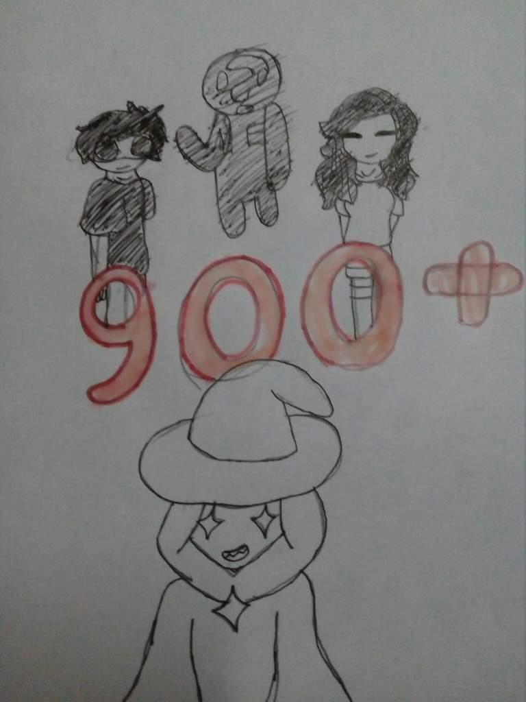 900 Followers Mario Amino