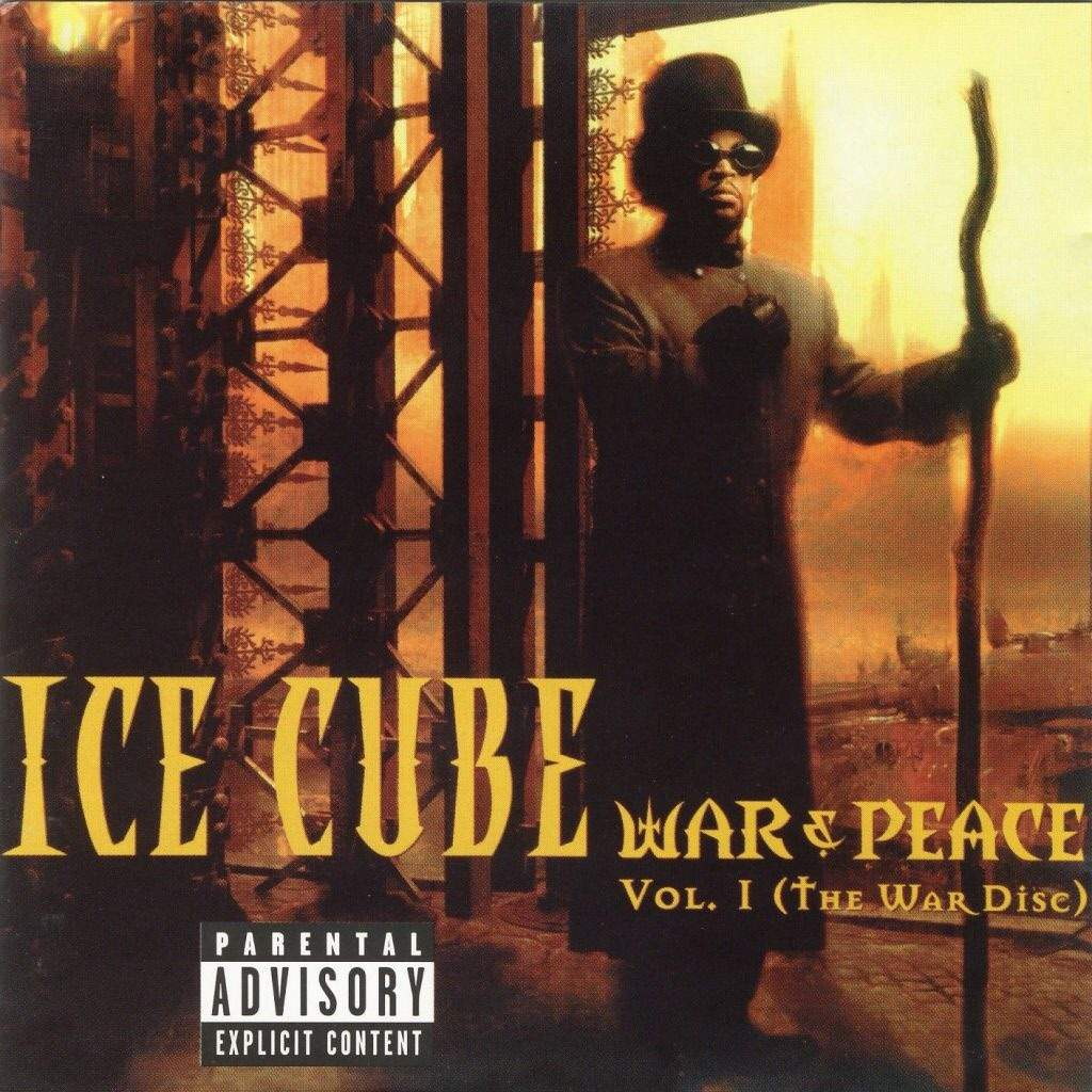 ice cube discography in order