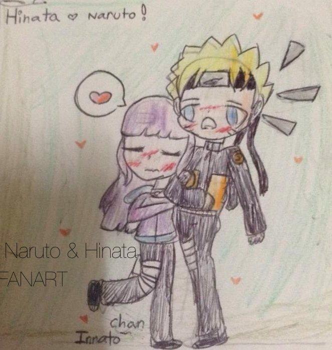 Naruto And Hinata Fan Art Naruto Amino