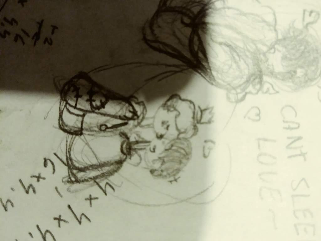 Prinxiety? In my math honework? | Thomas Sanders Fans Amino