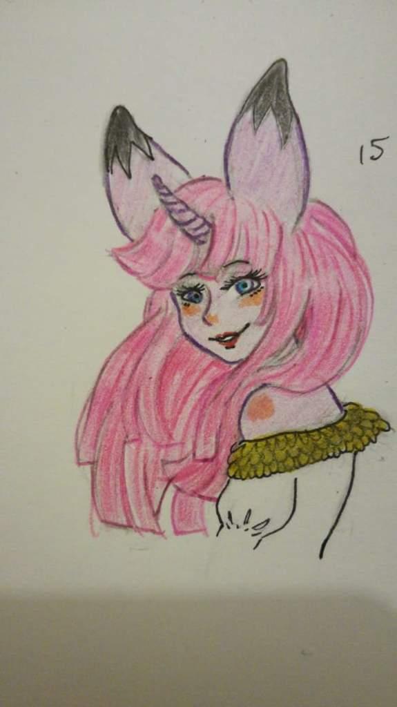 Dibujo Hecho Por Mi Hermana Para Mi My Little Pony