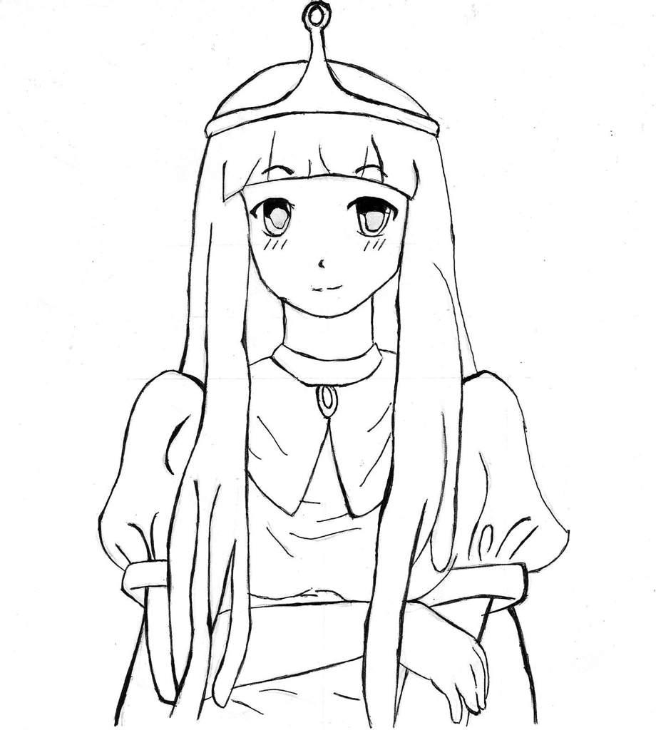 Como Dibujar A Bonnibel En Anime Paso Por Paso Hora De Aventura
