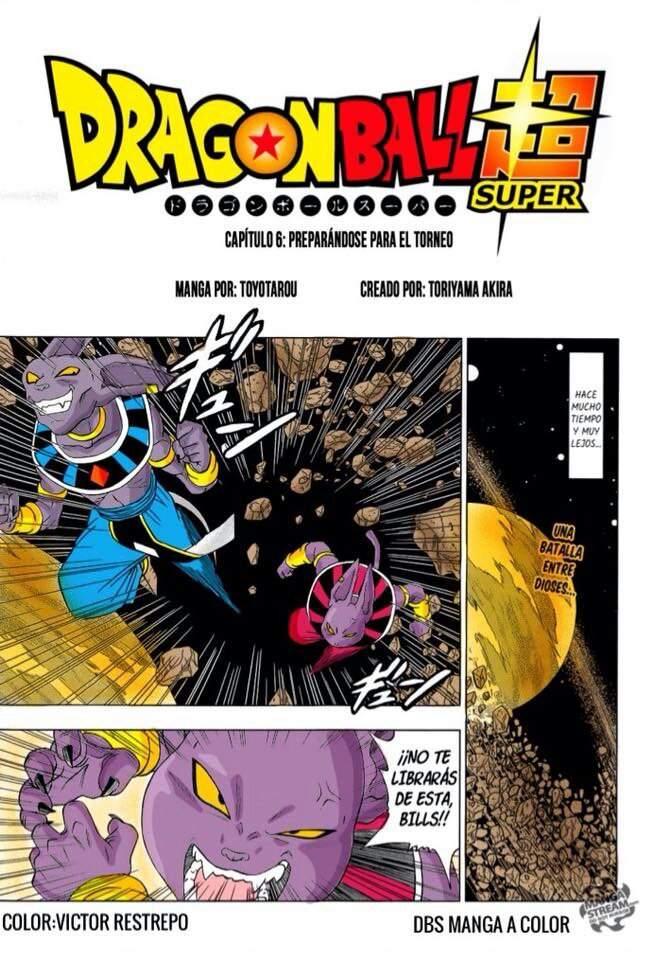 Dragon Ball Super Manga 6
