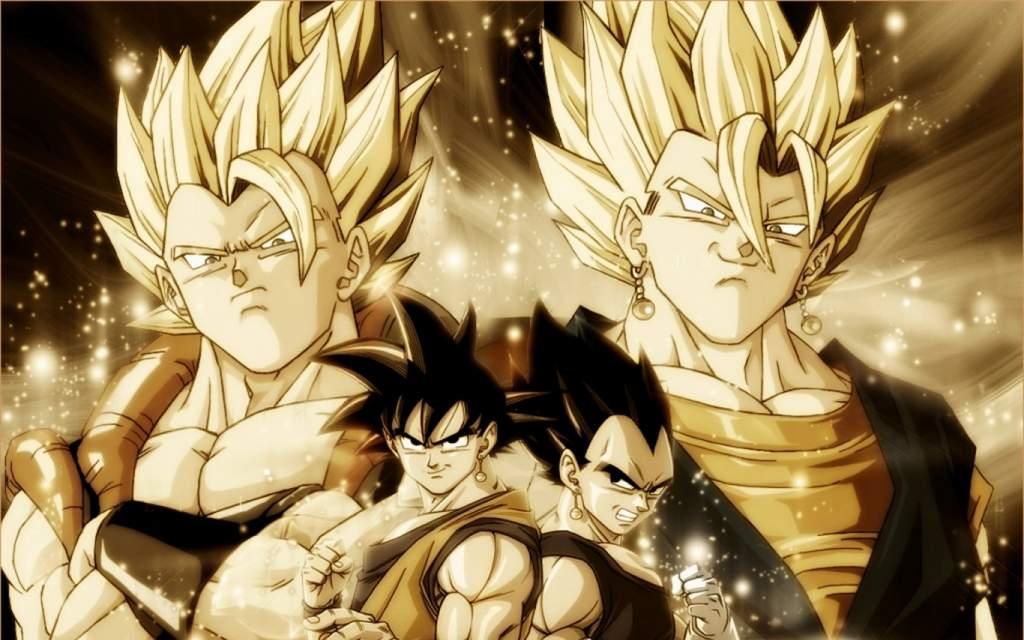 Gokuxvegetafusiónwallpapers Dragon Ball Español Amino
