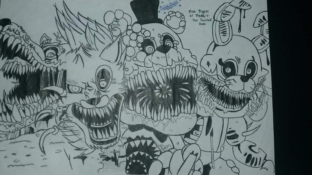Five Nights At Freddy S The Twisted Ones Draw Five Nights At