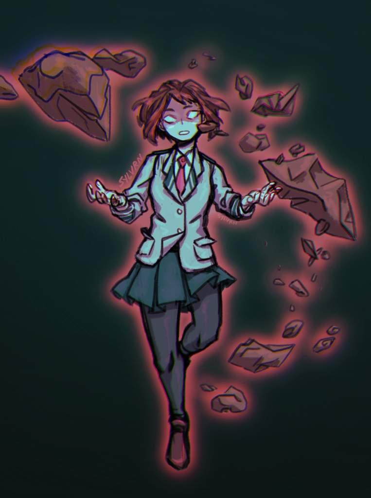 Villain Uraraka My Hero Academia Amino
