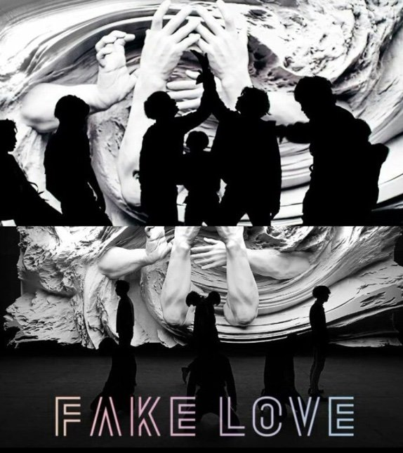 Fake Love Wallpapers: The Art Within [Love Yourself: Tear Fake Love