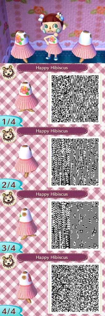 Shopping Flower Dresses Animal Crossing Qr Code Ffdcb Cc3aa