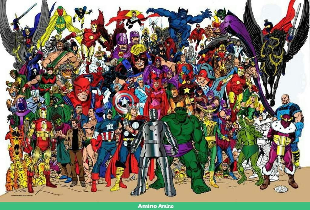 картинки со всеми героями марвел