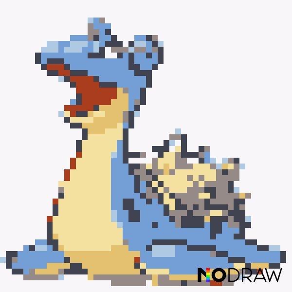 Pixel Art De Pokemons