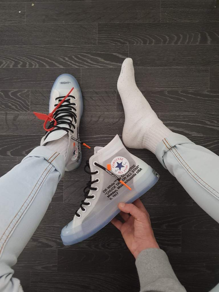 beautiful style performance sportswear clients first Off White x Converse Chuck Taylor's #Clique | Sneakerheads Amino