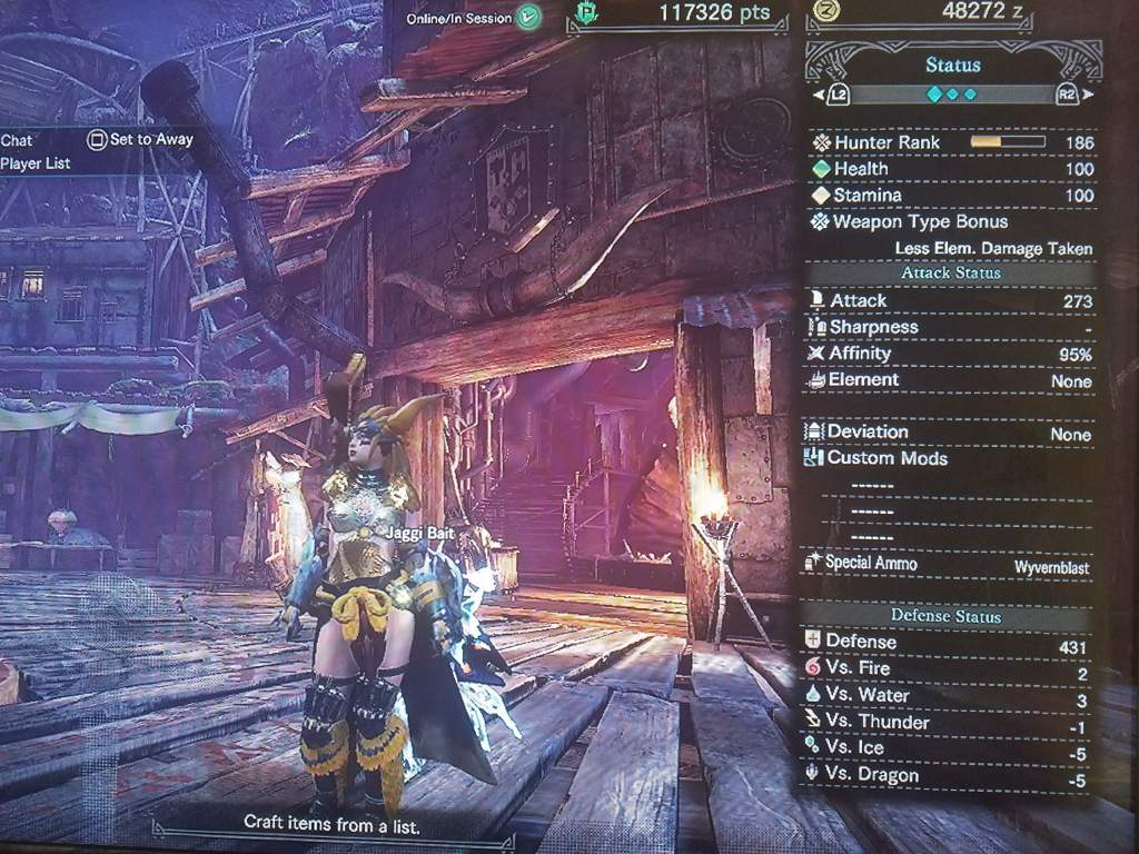 LBG Build: AFFINITY 95% | Monster Hunter Amino