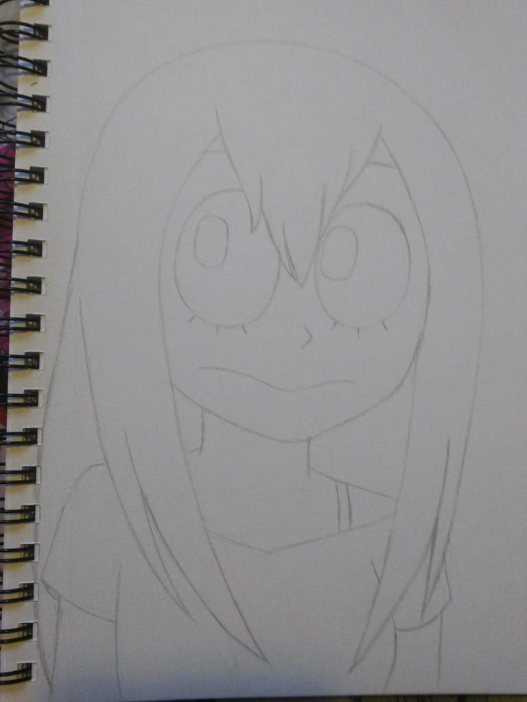 Tsuyu Asui Uncolored My Hero Academia Amino