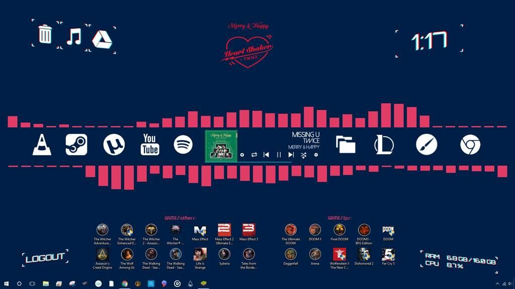 TWICE-themed Desktop (Windows 7/8/10) | Twice (트와이스)ㅤ Amino
