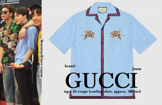 Bts wearing Gucci from head to toe at BBMAs last nighthere are the  outfits.
