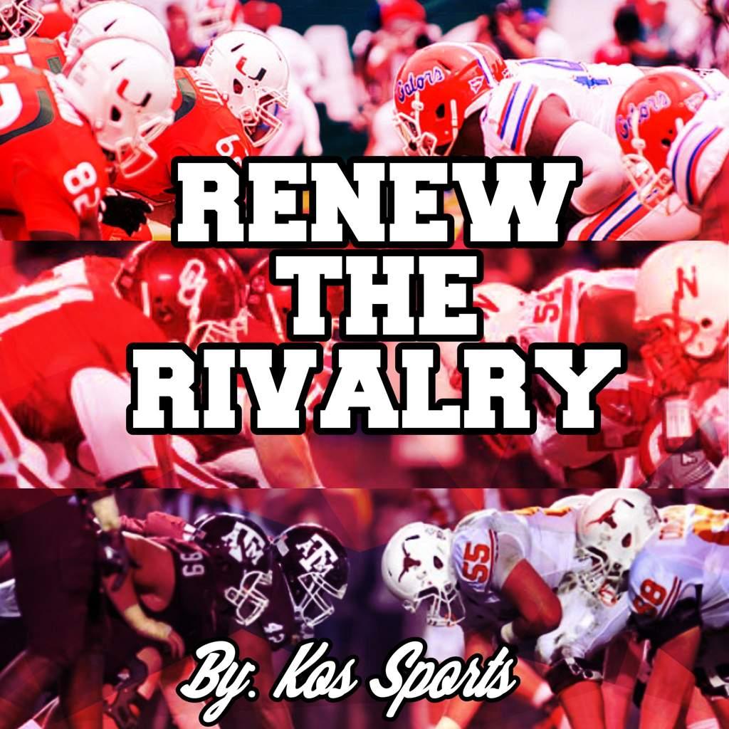 Renew the Rivalry | SportsCentral Amino