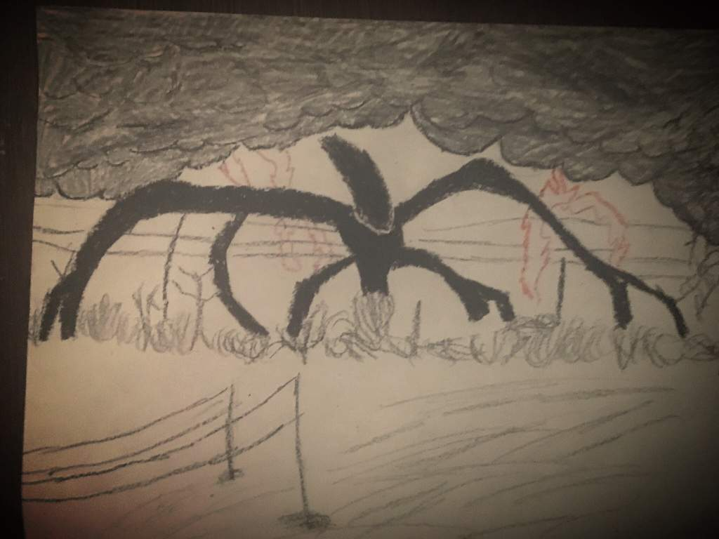 Shadow Monster Drawing Stranger Things Amino