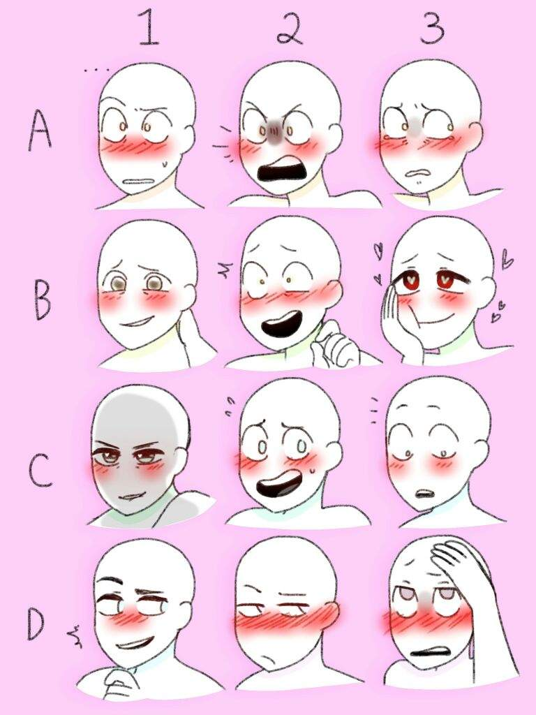 9753cbece12b7bbd4e4a5155dbfd94778071b541v2_hq closed)blushing face meme! (ocs and au characters) undertale aus amino