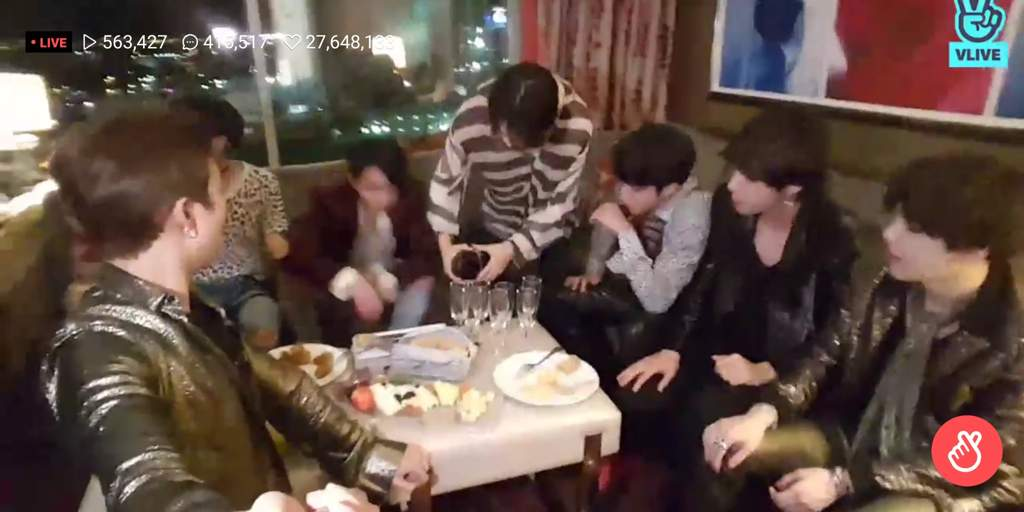 BTS Vlive live after party | ARMY's Amino